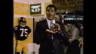 Mean Joe Greene for the Pro Football Hall of Fame 1988