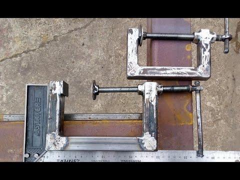 Струбцина G-образная, металлическая. Своими руками. - hamariweb.uk