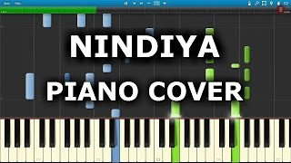 NINDIYA SARBJIT(Arijit Singh) PIANO Covers/TUTORIAL:How to Play Nindiya Song On Piano,Keyboard,Casio