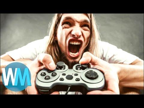 Top 10 des GAMERS les plus RELOUS du jeu vidéo