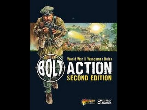 BOLT ACTION Battle Report V2 Germans vs Americans 1500pts