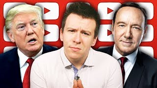"HUGE Underage Accusations Against Kevin Spacey Blow Up, Facebook ""Spying"", and Manafort"