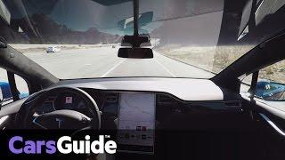 Tesla announces fully autonomous cars | video
