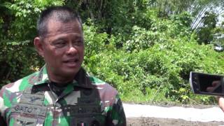 Panglima TNI Tinjau Jalan Trans Papua di Distrik Mamugu, Papua