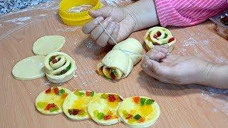 بريوش أنيق بالمربى لفطور العيد راائع فالمذاق بدون حليب ولا دلك على شكل وردة راقي جداااا لذييييذ