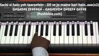 Jeena Jeena Piano Tutorials - Badlapur .... FUll SONG