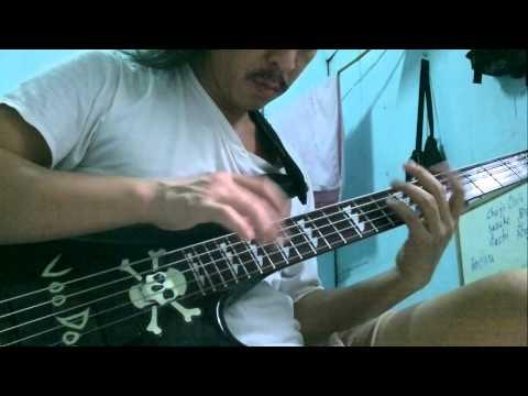 แสงจันทร์ cover bass solo Tapping by Denny Voo Doo Bass 20 6 13