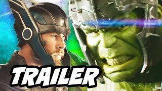 Thor Ragnarok Trailer Breakdown and Comics Easter Eggs