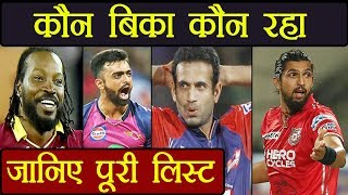 IPL Auction 2018: Chris Gayle sold to KXIP, Unadkat goes to Royals for 11.5 cr. | वनइंडिया हिंदी