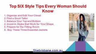 Brief Discussion of Women's Fashion Brisbane - Personal Stylist Brisbane