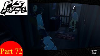 Lets Play Persona 5 [Ps4 BLIND] - Part 72 - Sojiro's House