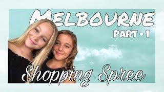 Shopping Spree with Ivy Mae Mae -MELBOURNE Travel VLOG - Part 1