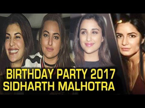Xxx Mp4 Siddharth Malhotra Birthday Party 2017 Katrina Kaif Sonakshi Sinha Full Video 3gp Sex