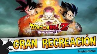 GRAN RECREACIÓN    Dragon Ball: La batalla de Goku contra Freezer de una forma ...PECULIAR !!!