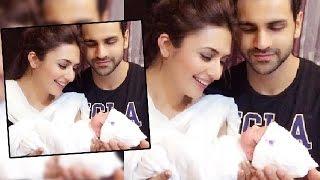 Divyanka Tripathi & Vivek Dahiya With A CUTE Baby