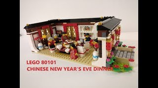 BUILDING THE LEGO 80101! CHINESE NEW YEAR'S EVE DINNER