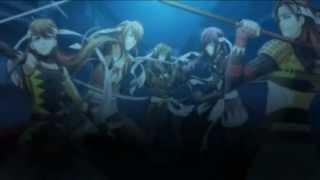 Hakuouki - Warriors of the Shinsengumi (opening)