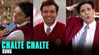 Chalte Chalte - Song | Mohabbatein | Uday Chopra | Jugal Hansraj | Jimmy Shergill
