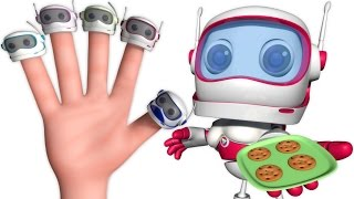 Robot Finger Family And Many More | Nursery Rhymes & Kids Songs | Finger Family Songs For Babies