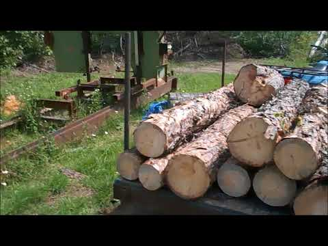 Xxx Mp4 How We Supply The Logs For Our Homemade Bandsaw Sawmill 3gp Sex