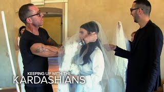 KUWTK | Kim Kardashian's Wedding Day Drama | E!