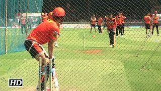 IPL 9 SRH vs RCB: Sunrisers Hyderabad Practice Session