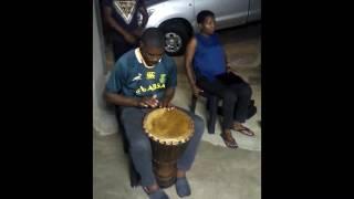 Muofhe rehearses Ten Times Love by Jabu Khanyile