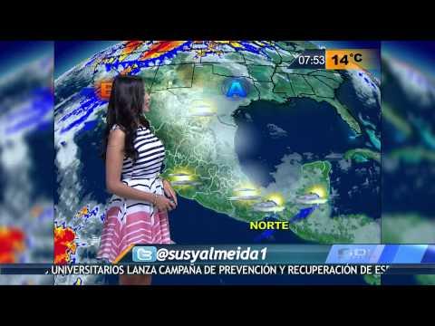 Susana Almeida Pronostico del Tiempo 18 de Febrero de 2016