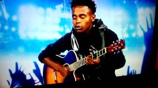 Idols SA 2015 Sizwe Mthalane-Labarinth (Beneath your beautiful)