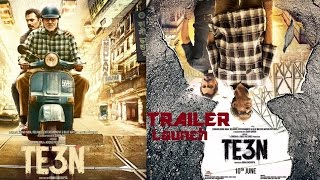 TE3N Official Trailer 2016 Launch | Amitabh Bachchan, Vidya Balan, Nawazuddin Siddiqui | Sujoy Ghosh