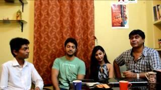 Hello Bangla taken intervew about the film Jamai baran