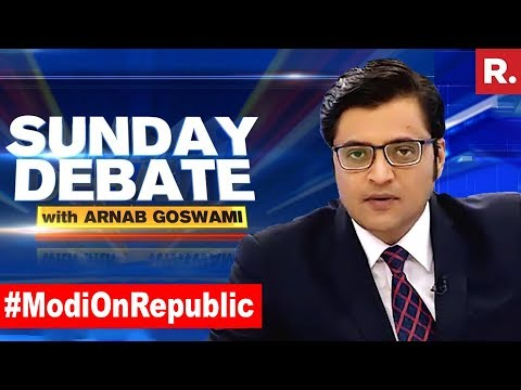 Xxx Mp4 Has PM Modi 39 S Response Put The Oppn On The Backfoot Exclusive Sunday Debate With Arnab Goswami 3gp Sex