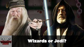 Wizards or Jedi?   DEATH BATTLE Cast