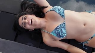 Hot Indian Celebrity in Bikini - Exposing Cleavage