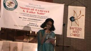 Sameepincharani Thejassulo..Song by  Miss Preethi Talathoti -TCCNY