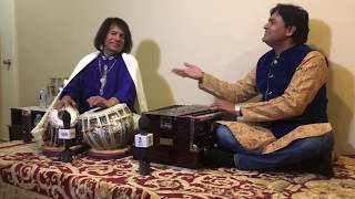 Surinder khan with ustad Tari khan