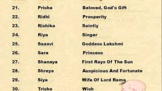 Baby names with meanings channel videos sarcheshmeh tube popular indian baby girl names with meanings negle Gallery