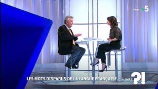 Les mots disparus de la langue française #cadire 16.11.2018
