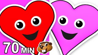 """""""Red Heart Pink Heart"""" Plus More   Children"""