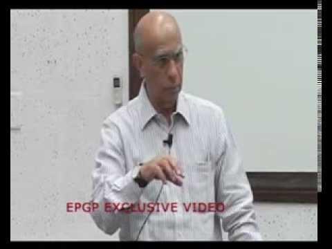 Ashok Soota speaks at IIMB's EPGP Seminar Series