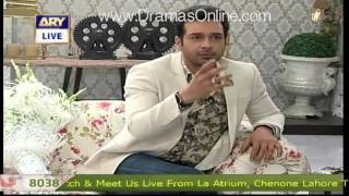 Nida Yasir and Aijaz Aslam Leaking out the Bad Habits of Faisal Qureshi