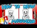 How To Draw Fortnite Marshmello Skin