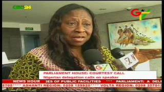 Nigerian MPs call on Ghana's Speaker