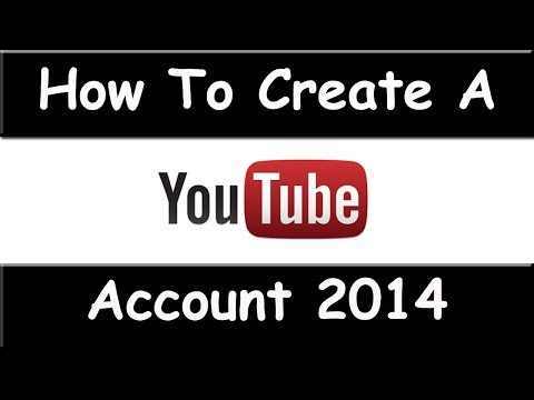 How to Create a YouTube Account - March 2015 (Easy To Follow Tutorial)