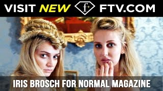 Backstage with Iris Brosch for HOT Normal Magazine Shoot | FTV.com