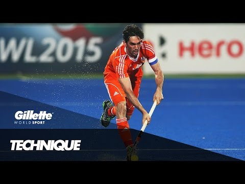 Field Hockey Technique with Robert Van Der Horst | Gillette World Sport