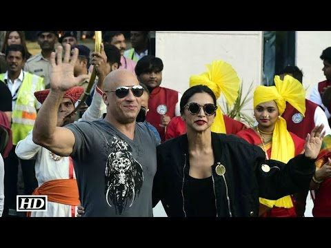 Xxx Mp4 Deepika Welcomes Vin Diesel In Desi Style With Band Baaja 3gp Sex