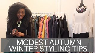 Modest Fashion | AW Styling Tips | 2/3