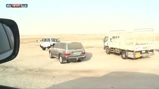 جولة في الحدود البرية بين المملكة العربية السعودية وقطر  بعد الإغلاق