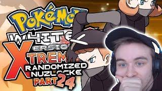 THESE PLASMA DUDES ARE STRONG! Pokemon White 2 EXTREME Randomizer Nuzlocke Part 24 w/ HDvee